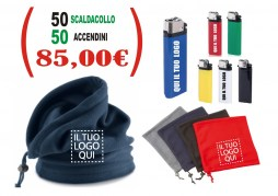 kit scaldacollo + accendini